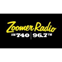 Logo de la radio CFZM Zoomer Radio AM740