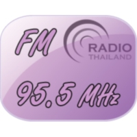 Logo of radio station สถานีวิทยุกระจายเสียงแห่งประเทศไทย FM 95.5 MHz