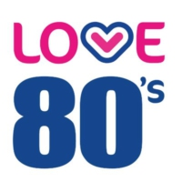 Logo of radio station Love 80's Manchester