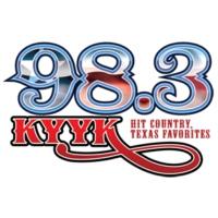 Logo of radio station 98.3 KYYK