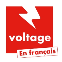 Logo de la radio Voltage en française