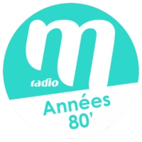 Logo de la radio M Radio - Années 80