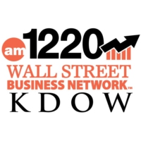 Logo of radio station KDOW 1220 AM