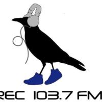 Logo of radio station R.E.C 103.7 FM