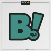 Logo of radio station B Radio 95.6 FM