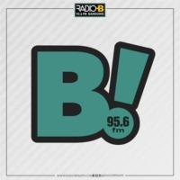 Logo de la radio B Radio 95.6 FM