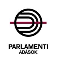 Logo of radio station Parlamenti Adások