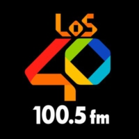Logo of radio station XHBZ LOS40 100.5 FM