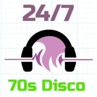 Logo de la radio 24/7 - 70s Disco