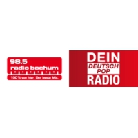 Logo of radio station Radio Bochum - Dein DeutschPop Radio