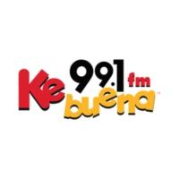 Logo of radio station XHEPT Ke Buena 99.1 FM