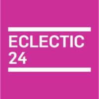 Logo of radio station KCRW - Eclectic24