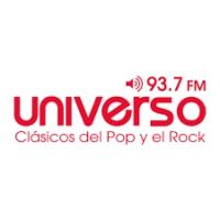 Logo of radio station Universo 93.7 FM