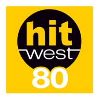 Logo de la radio Hit West 80