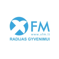 Logo of radio station XFM Radijas