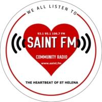 Logo of radio station Saint FM