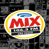 Logo of radio station Rádio Mix FM 106.3