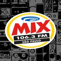 Logo of radio station Rádio Mix FM 106.3