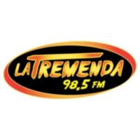 Logo de la radio XHSAP La Tremenda 98.5 FM