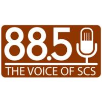 Logo de la radio WQOX 88.5 The Voice of SCS