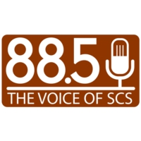 Logo de la radio WQOX 88.5 The Voice of SCS