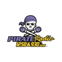 Logo de la radio WGHB Pirate Radio 1250 & 930