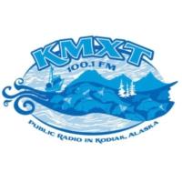 Logo of radio station KMXT 100.1 FM