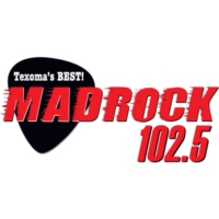 Logo de la radio KMAD Mad Rock 102.5
