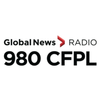 Logo of radio station CFPL AM980 News