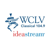 Logo of radio station WCLV Classical 104.9