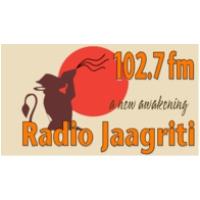 Logo de la radio Jaagriti 102.7 FM