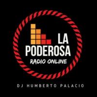 Logo de la radio La Poderosa Radio Online 80s
