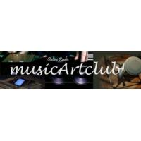Logo of radio station MusicArtClub Radio
