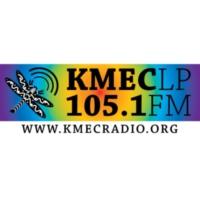 Logo of radio station KMEC 105.1 FM