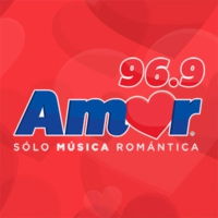 Logo of radio station Amor 96.9