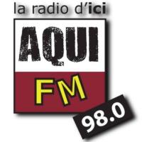 Logo of radio station Aqui FM