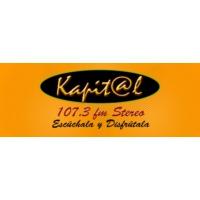 Logo de la radio Emisora Kapital Stereo 107.3
