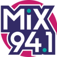 Logo of radio station KMXB Mix 94.1 FM