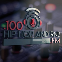 Logo of radio station .100 Hip Hop and RNB FM