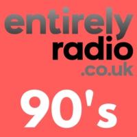 Logo of radio station Entirely Radio 90's