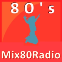 Logo of radio station Mix80Radio