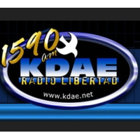 Logo of radio station KDAE Radio Libertad
