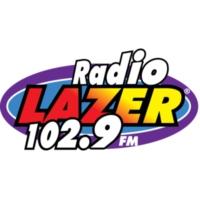 Logo de la radio KXSB 102.9 FM Radio Lazer