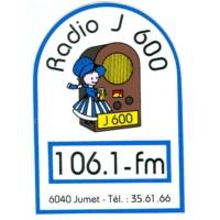 Logo of radio station J600