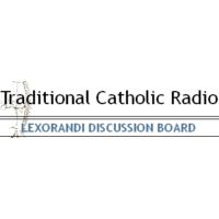 Logo of radio station Traditional Catholic Radio