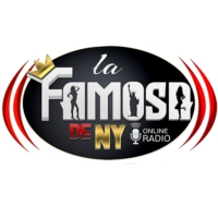 Logo of radio station La Famosa De NY