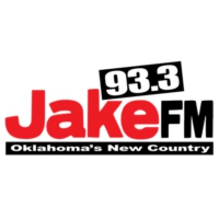 Logo of radio station KJKE 93.3 Jake FM