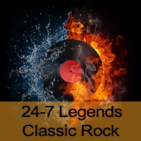 Logo de la radio 24-7 Legends Classic Rock