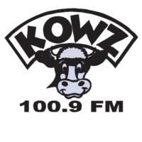 Logo of radio station KOWZ 100.9