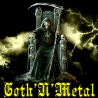 Logo of radio station Goth'N'Metal